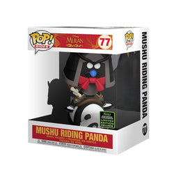 Mulan Funko Pop! Rides Mushu on Panda (Shared Sticker) #77 (Pre-Order)