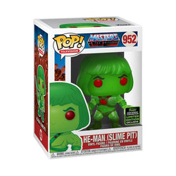 Masters of the Universe Funko Pop! He-Man (Slime Pit) (Shared Sticker) (Pre-Order)