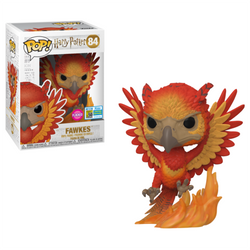 Harry Potter Funko Pop! Fawkes (Flocked) (Shared Sticker) #84 (Pre-Order)