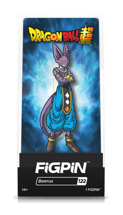 Dragon Ball Super FiGPiN Beerus Collector Case #122