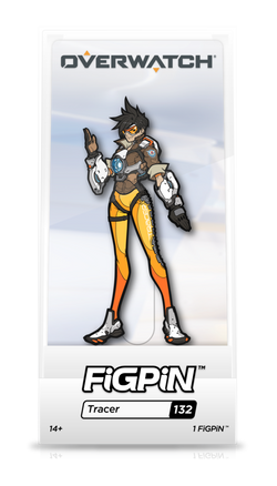 Overwatch FiGPiN Tracer Collector Case #132