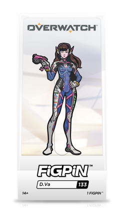 Overwatch FiGPiN D.Va Collector Case #133