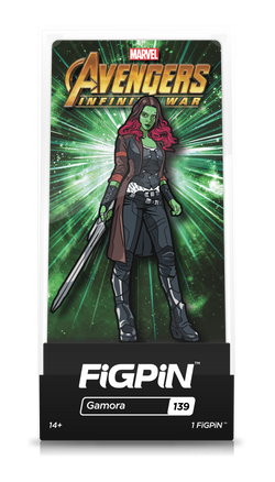 Avengers Infinity War FiGPiN Gamora Collector Case #139