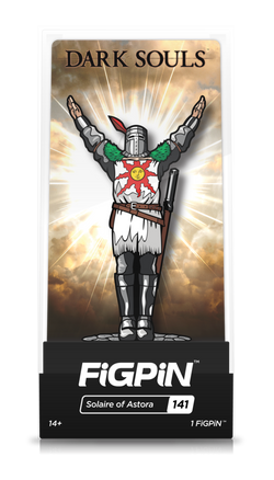 Dark Souls FiGPiN Solaire of Astora #141