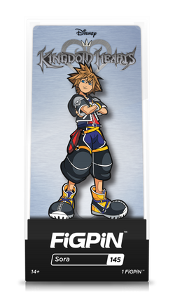 Kingdom Hearts FiGPiN Sora Collector Case #145