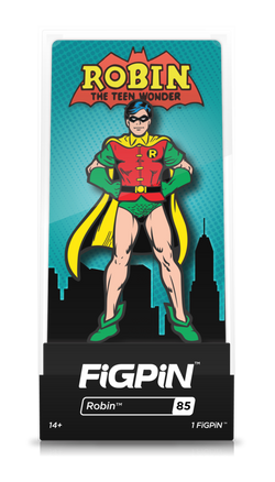 Batman Classic FiGPiN Robin Collector Case #85