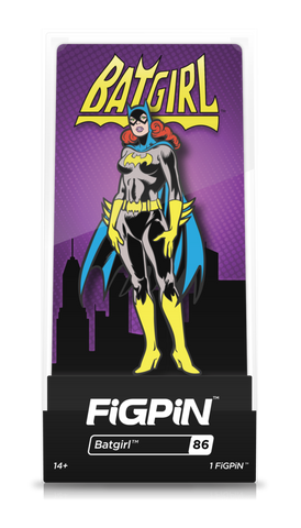 Batman Classic FiGPiN Batgirl Collector Case #86