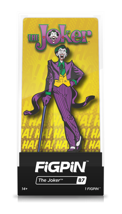 Batman Classic FiGPiN The Joker Collector Case #87