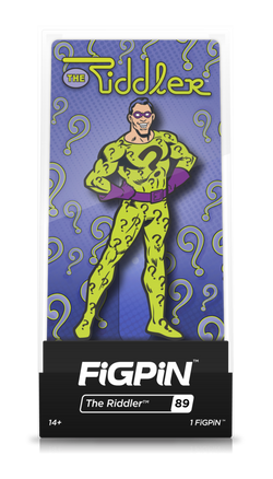 Batman Classic FiGPiN The Riddler Collector Case #89