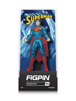 DC FiGPiN Superman Collector Case #45