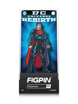 DC Comics Rebirth FiGPiN Superman Collector Case #37