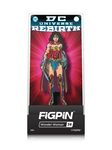 DC Comics Rebirth FiGPiN Wonder Woman Collector Case #38