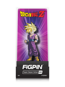 Dragon Ball Z FiGPiN Super Saiyan Gohan Collector Case #24