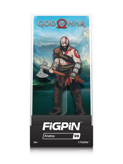 God of War FiGPiN Kratos Collector Case #99