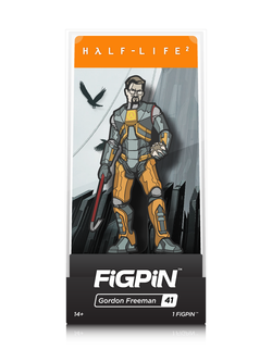 Half-Life 2 FiGPiN Gordon Freeman Collector Case #41