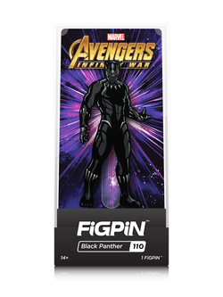 Avengers Infinity War FiGPiN Black Panther Collector Case #110