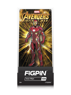 Avengers Infinity War FiGPiN Iron Man Collector Case #109