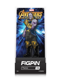 Avengers Infinity War FiGPiN Thanos Collector Case #112