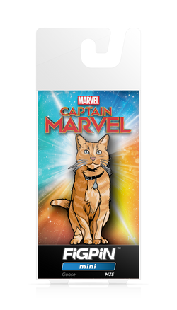Captain Marvel FiGPiN Mini Goose #M35