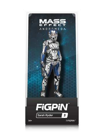 Mass Effect FiGPiN Sara Ryder Collector Case #3