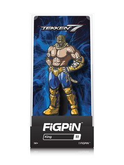 Tekken 7 FiGPiN King Collector Case #11