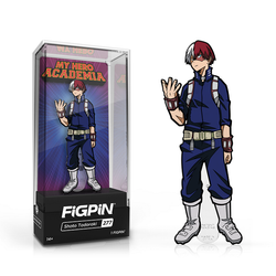 My Hero Academia FiGPiN Shoto Todoroki Collector Case #277