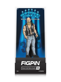 WWE FiGPiN Stone Cold Steve Austin Collector Case #30