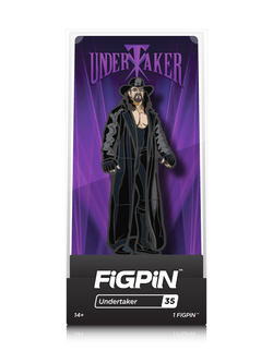 WWE FiGPiN Undertaker Collector Case #35