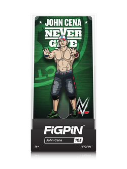 WWE FiGPiN John Cena Collector Case #103