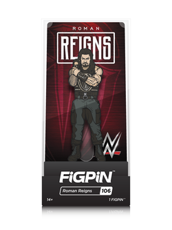 WWE FiGPiN Roman Reigns Collector Case #106