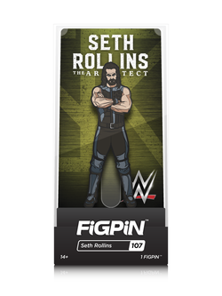 WWE FiGPiN Seth Rollins Collector Case #107