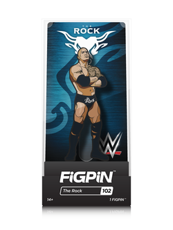 WWE FiGPiN The Rock Collector Case #102