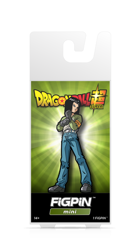 Dragon Ball Super FiGPiN Mini Android 17 #M4