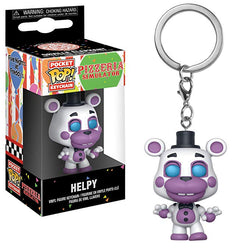 Five Nights at Freddy's Pizzeria Simulator Funko Pocket Pop! Keychain Helpy