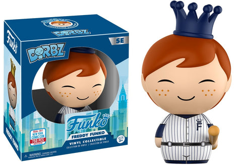 Freddy Funko DORBZ NYCC Baseball Player #SE