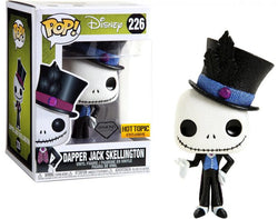 Nightmare Before Christmas Funko Pop! Dapper Jack Skellington (Diamond) #226