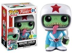 Funko Mascot Funko Pop! Amazing Carlos (Convention Sticker) #01