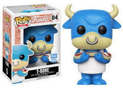Funko Mascot Funko Pop! T-Bone (Blue) #04
