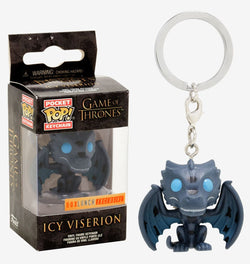 Game of Thrones Funko Pocket Pop! Keychain Icy Viserion