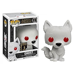 Game of Thrones Funko Pop! Ghost (Flocked) (Convention Sticker) #19