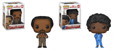 The Jeffersons Funko Pop! Set of 2 (Pre-Order)