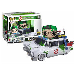 Ghostbusters Funko Pop! Ecto-1 with Dr. Egon Spengler