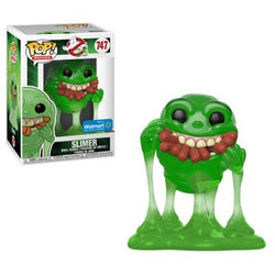 Ghostbusters Funko Pop! Slimer (with Hotdogs) (Translucent) #747