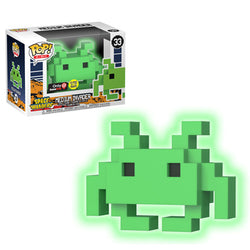 Space Invaders Funko Pop! Medium Invader (Glow) #33 (Pre-Order)