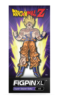 Dragon Ball Z FiGPiN XL Super Saiyan Goku #X3