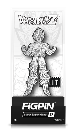 Dragon Ball Z FiGPiN Super Saiyan Goku (Black/White) #57