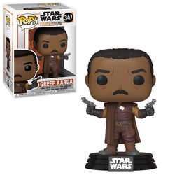 Star Wars: The Mandalorian Funko Pop! Greef Karga #347