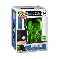 DC Super Heroes Funko Pop! Batman (Green Chrome) #144