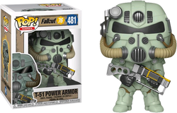 Fallout Funko Pop! T-51 Power Armor #481 (Pre-Order)