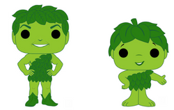 Ad Icons Funko Pop! Green Giant and Sprout Complete Set of 2 (Pre-Order)